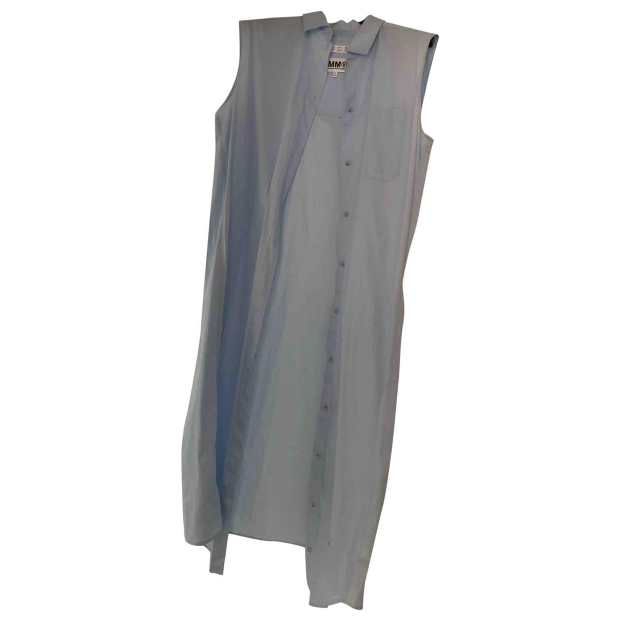 Mm6 - Top   pour femme en coton - bleu