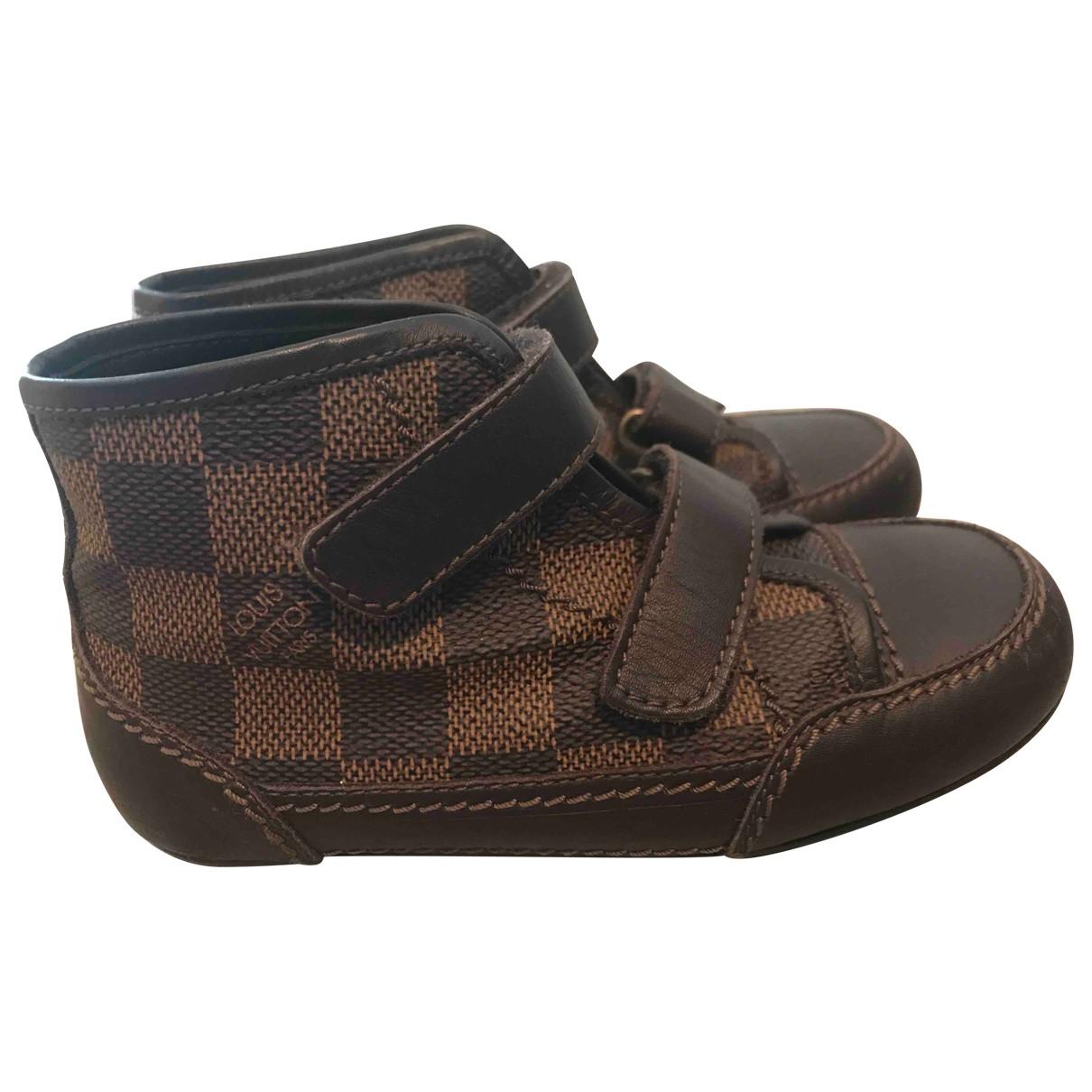 Louis Vuitton - Baskets   pour enfant - marron