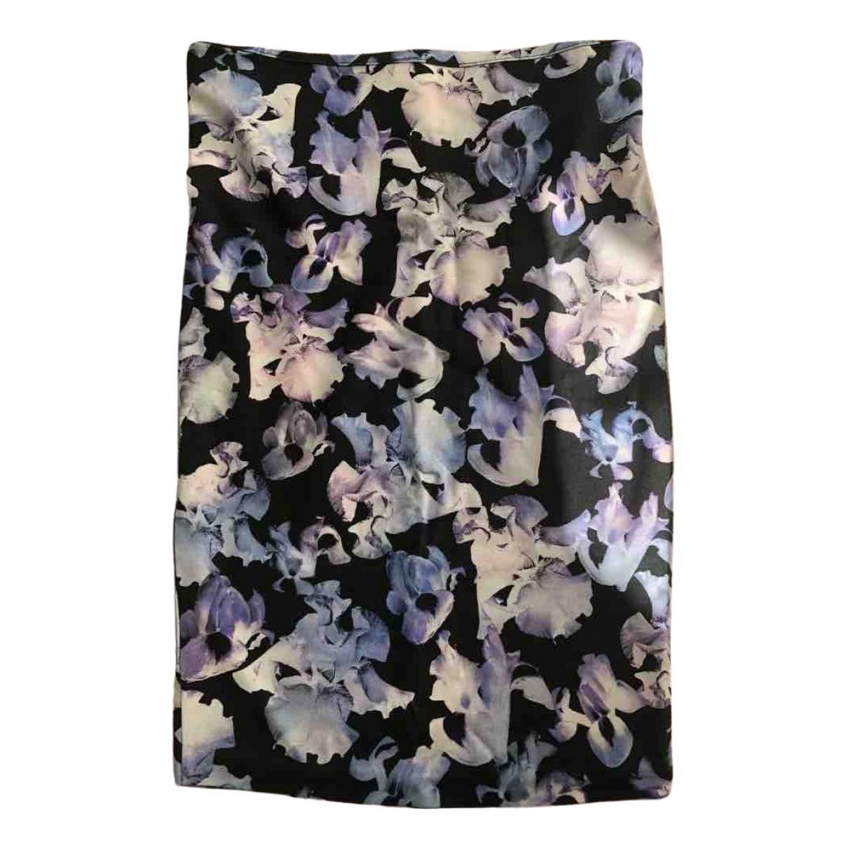 Mcq \N Multicolour Cotton - elasthane skirt for Women 10 UK