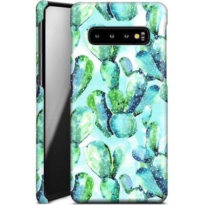 Samsung Galaxy S10 Smartphone Huelle - Cactus Tropicana von Mark Ashkenazi