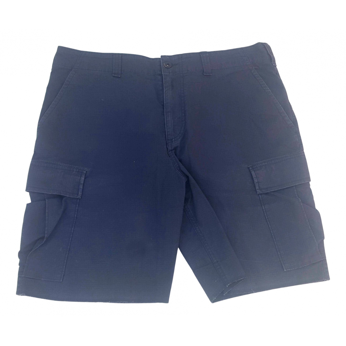 Nike N Black Cotton Shorts for Men L International
