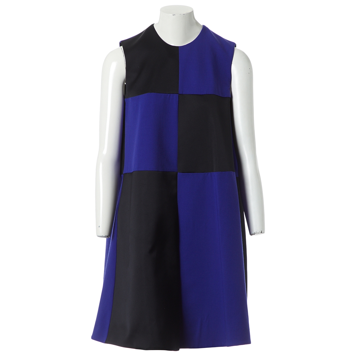 Roksanda Ilincic \N Kleid in  Schwarz Synthetik