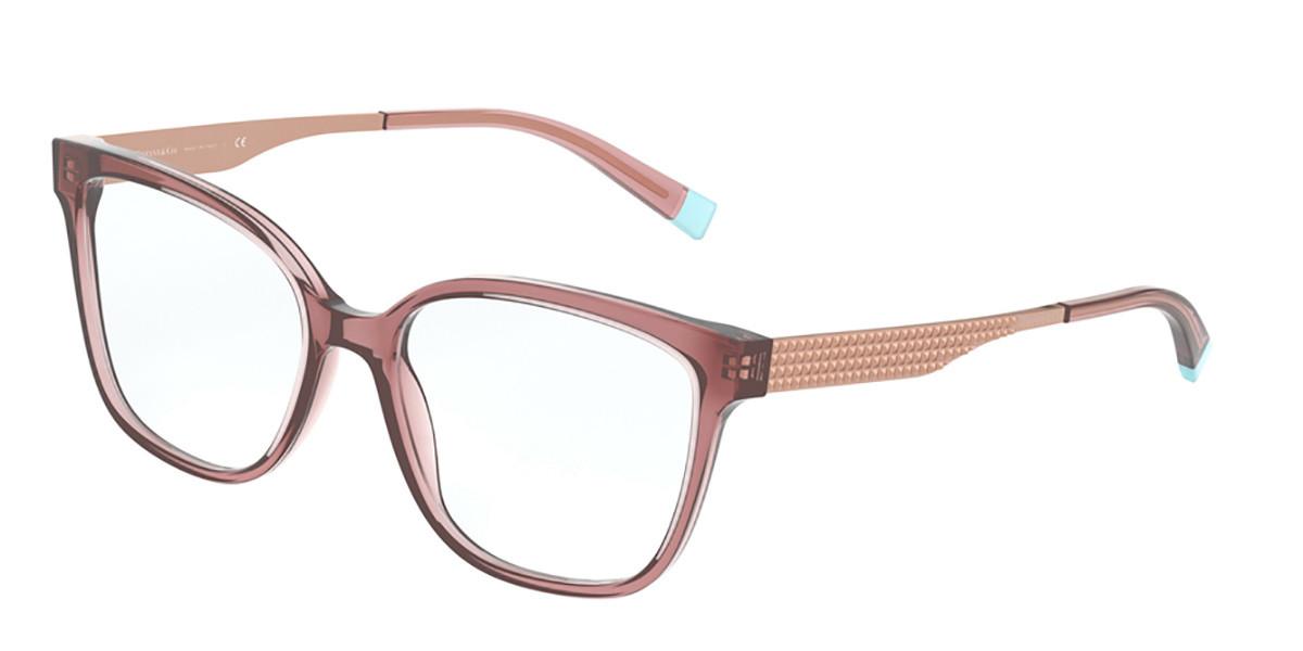 Tiffany & Co. TF2189 8297 Women's Glasses Pink Size 52 - Free Lenses - HSA/FSA Insurance - Blue Light Block Available