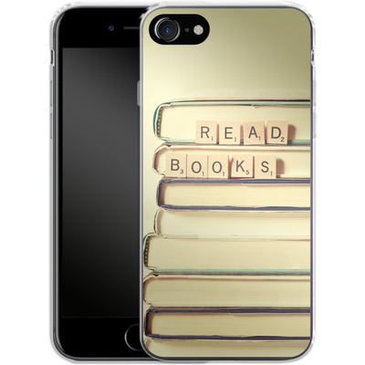 Apple iPhone 7 Silikon Handyhuelle - Read Books von Joy StClaire