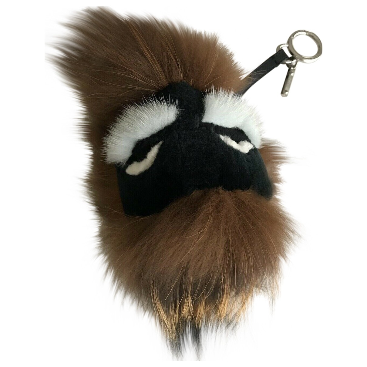 Fendi - Bijoux de sac Bag Bug pour femme en renard - marron