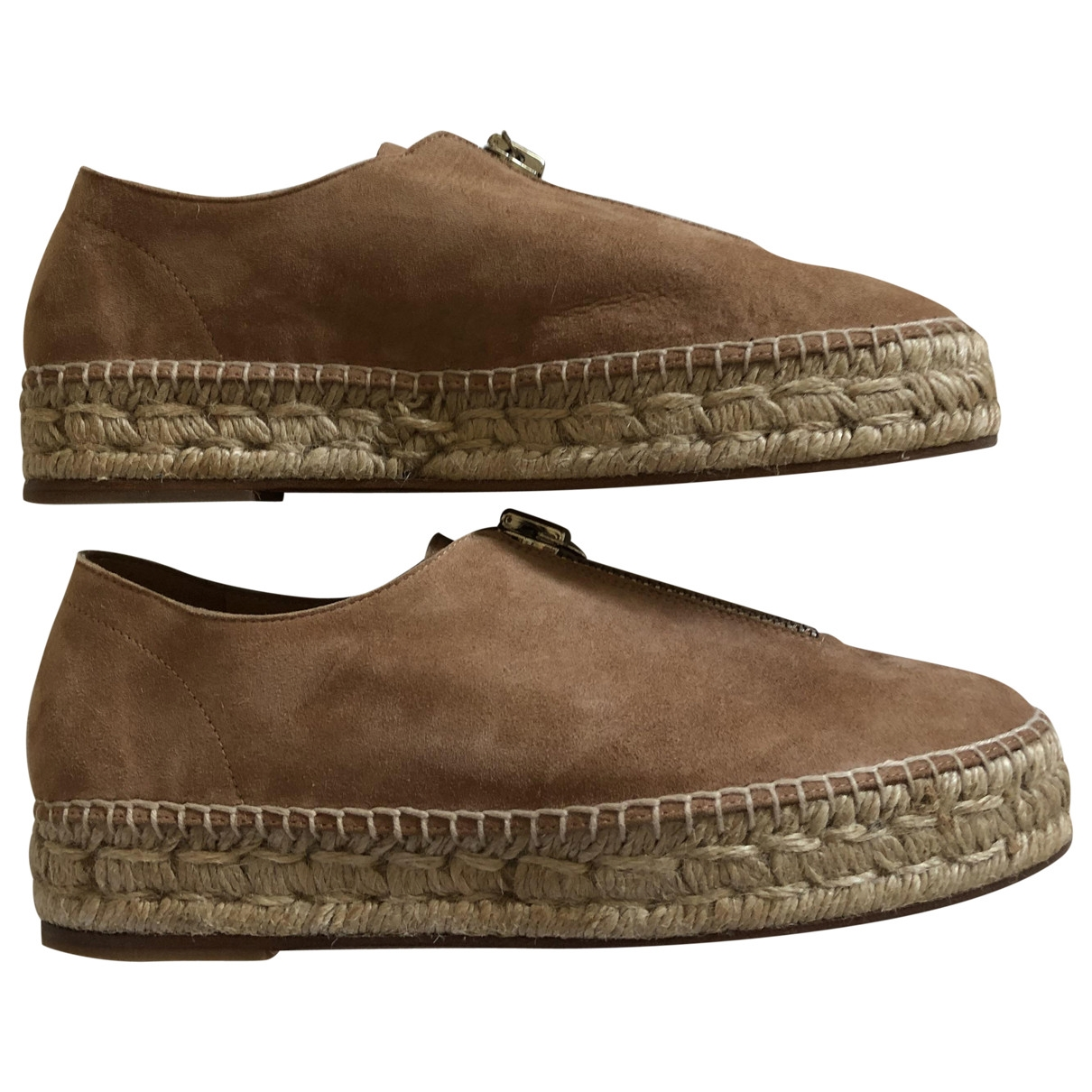 Alexander Wang \N Brown Suede Espadrilles for Women 37 EU