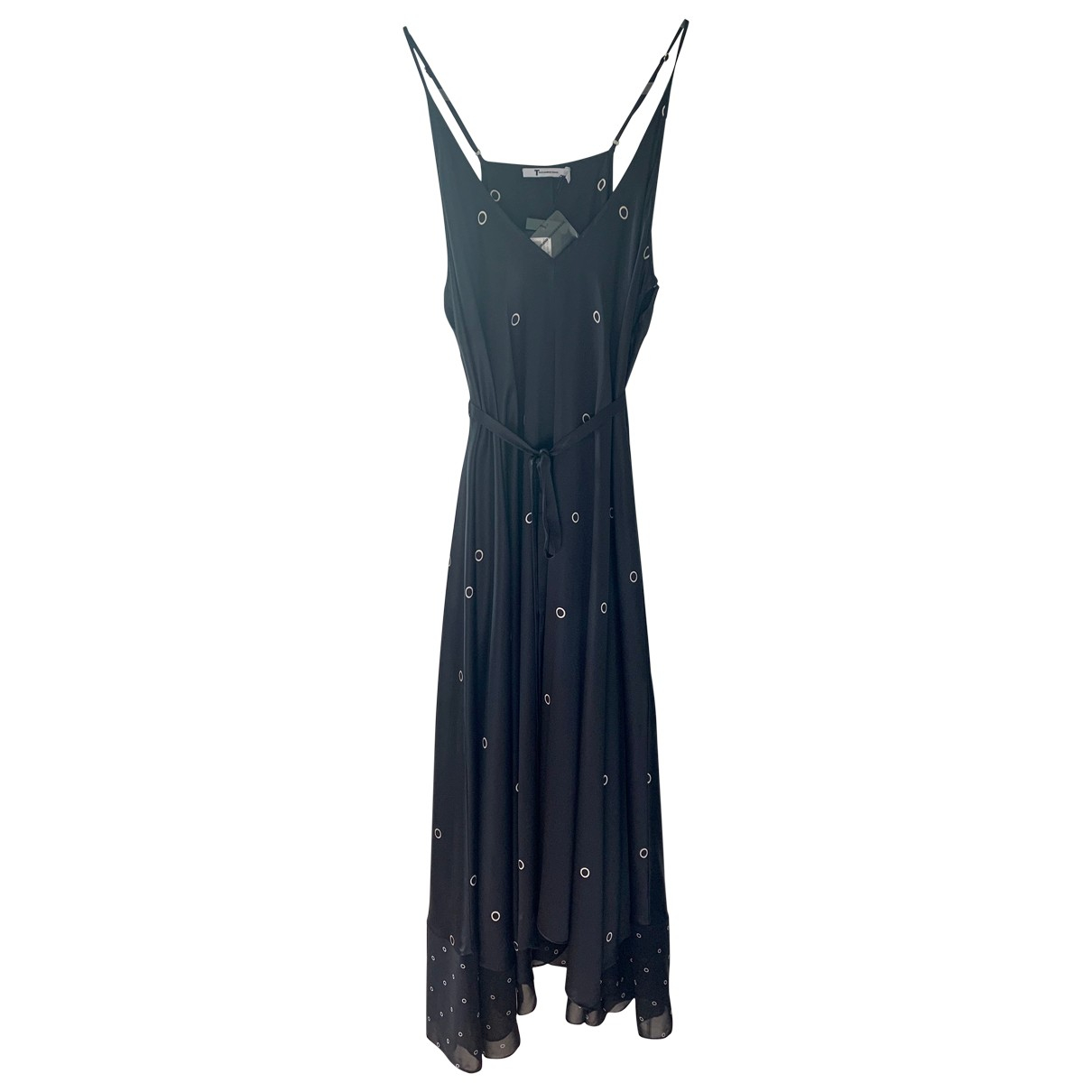 Maxi vestido de Seda T By Alexander Wang