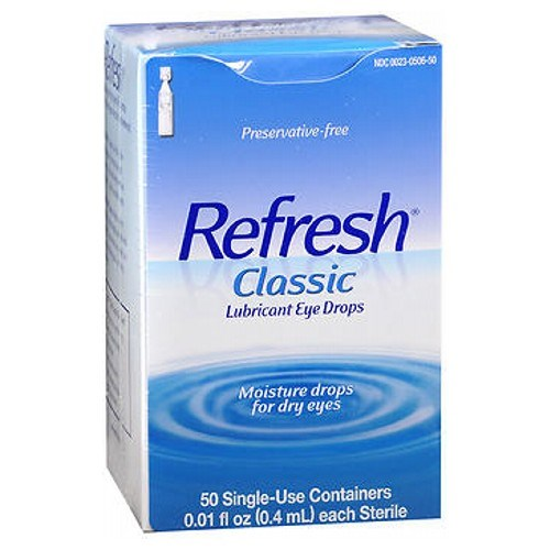 Refresh Classic Preservative-Free Eye Drops Single-Use Containers 50 ct by Refresh