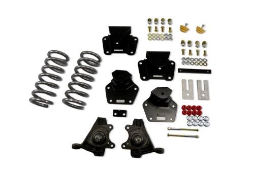 Belltech 806 4inch Front 4inch Rear Lowering Kit w/o Shocks Dodge Dakota Std Cab V8 1991-1996