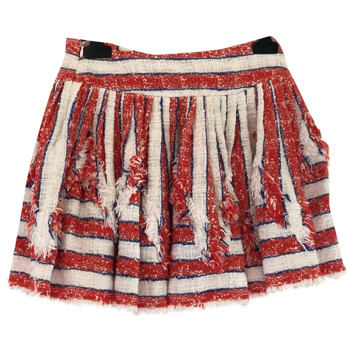 Msgm \N Red Cotton skirt for Women 40 IT