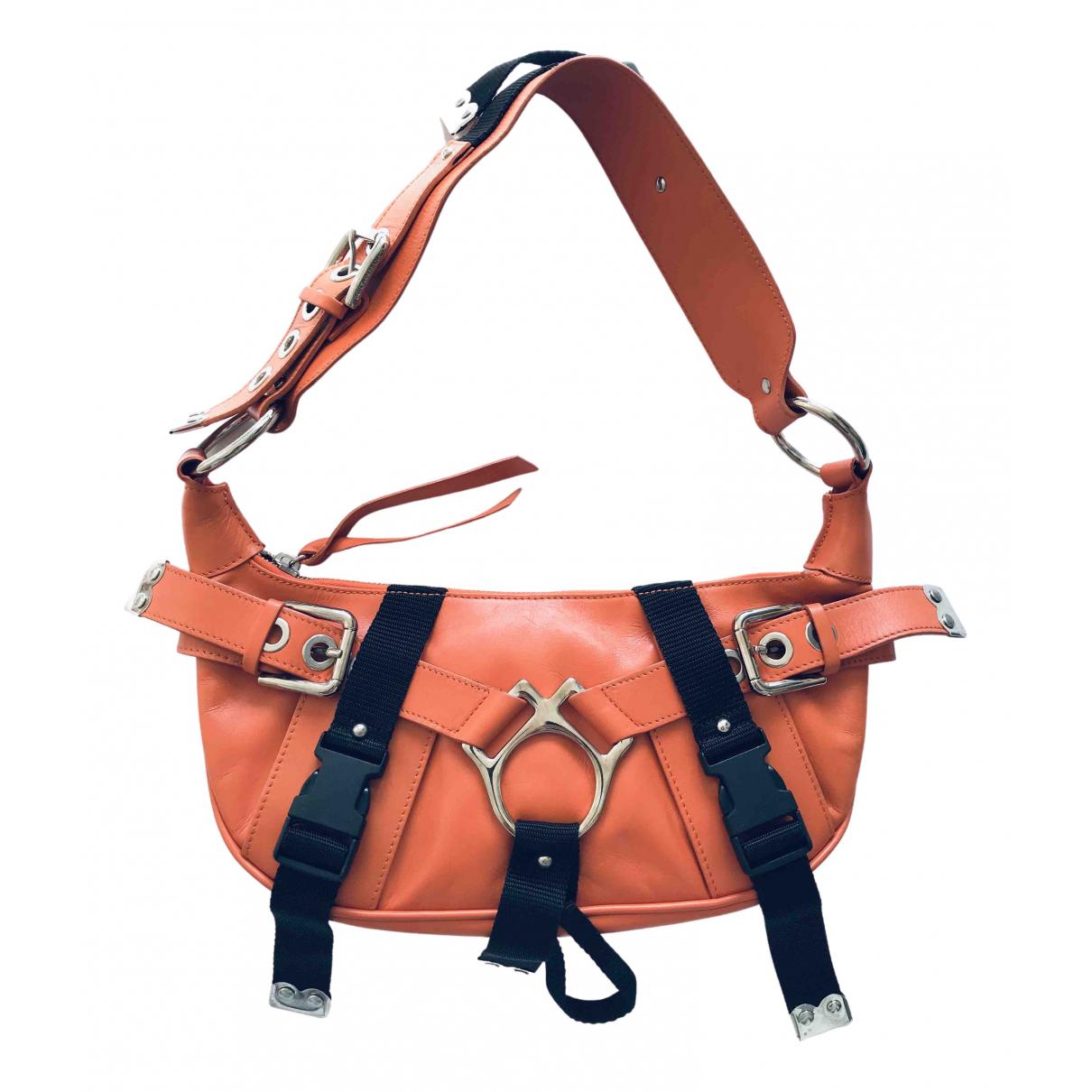 Dolce & Gabbana \N Handtasche in  Orange Leder