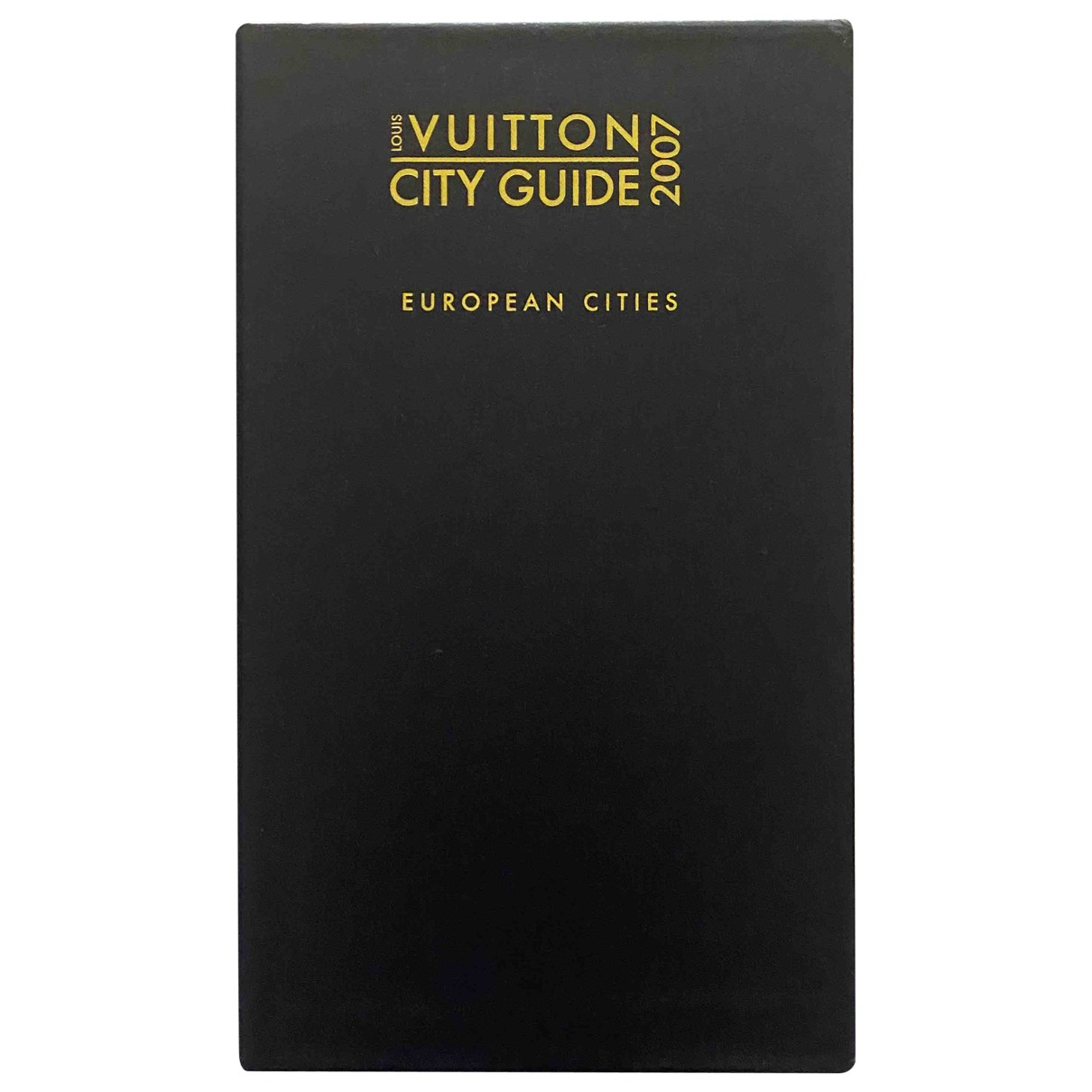 Louis Vuitton City Guide Black Cotton Travel for Life & Living \N
