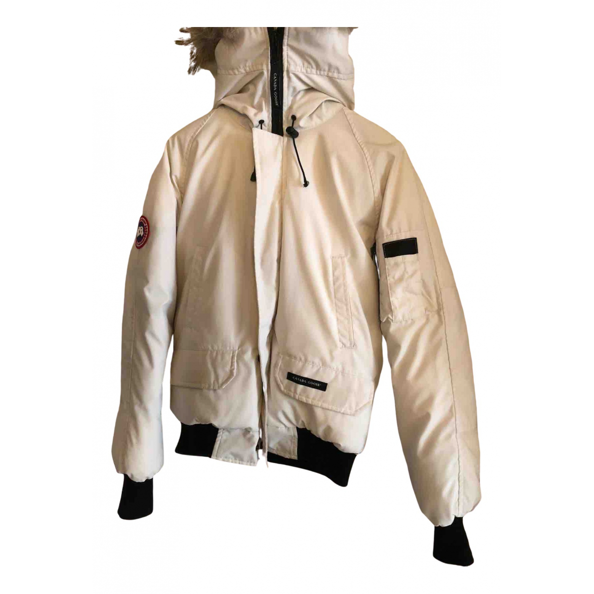 Canada Goose Chilliwack White Cotton jacket  for Men M International