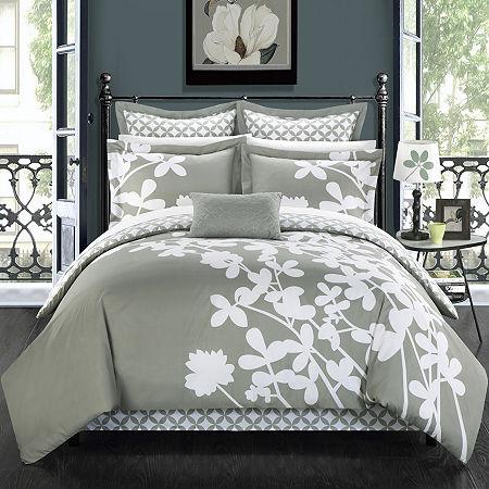 Chic Home Iris 7-pc. Comforter Set, One Size , Gray