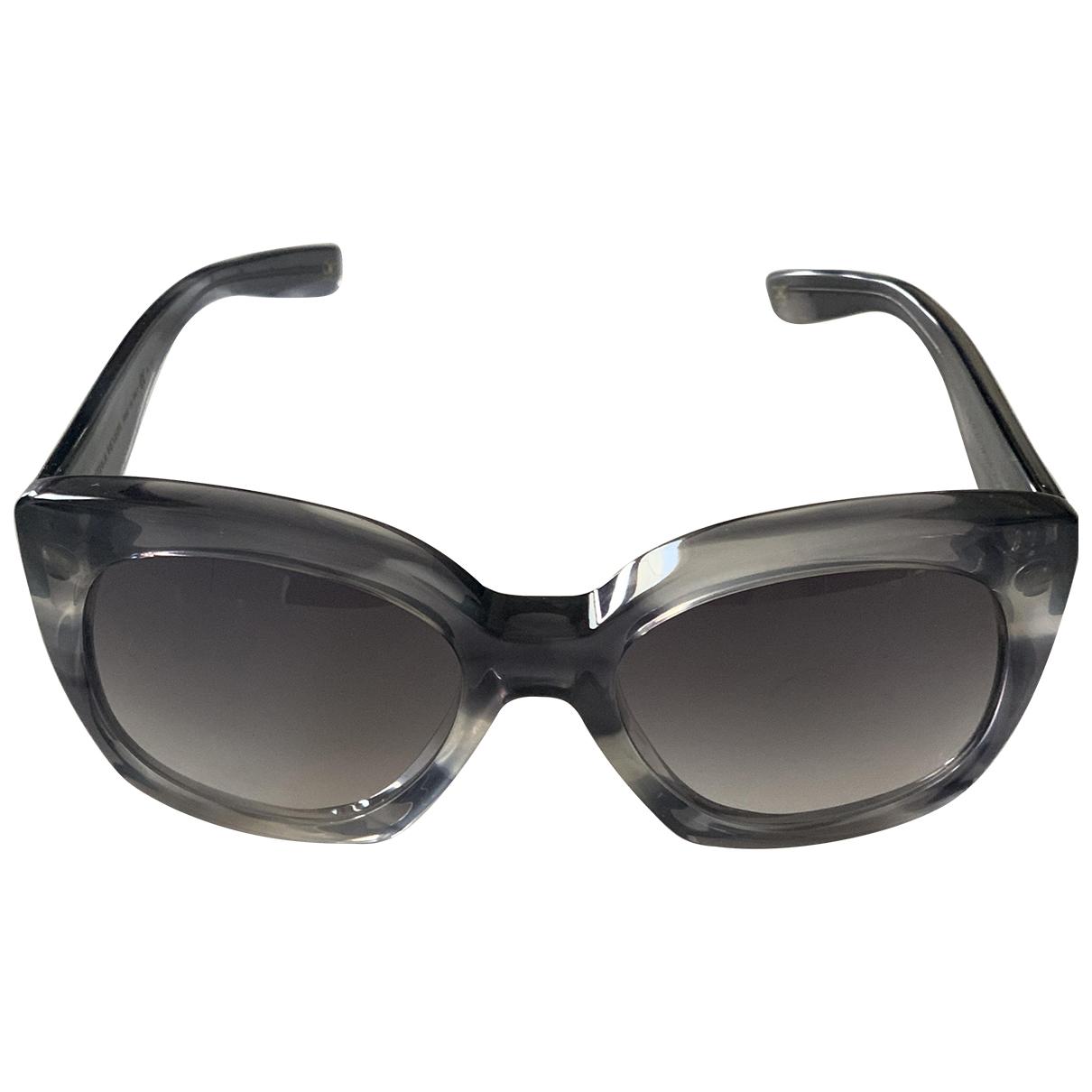 Bottega Veneta \N Grey Sunglasses for Women \N