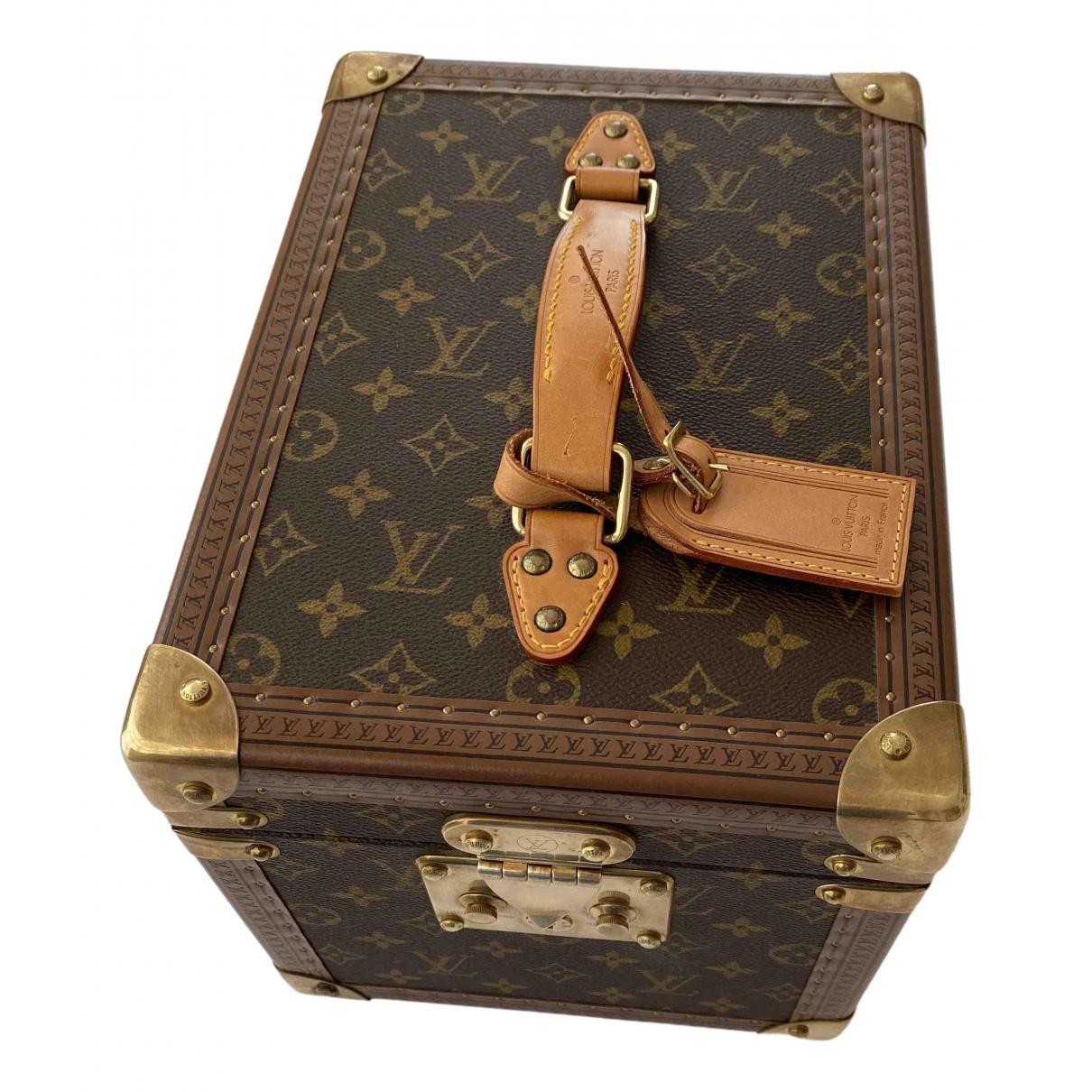 Louis Vuitton - Voyages Boite a Flacons pour lifestyle en autre - marron