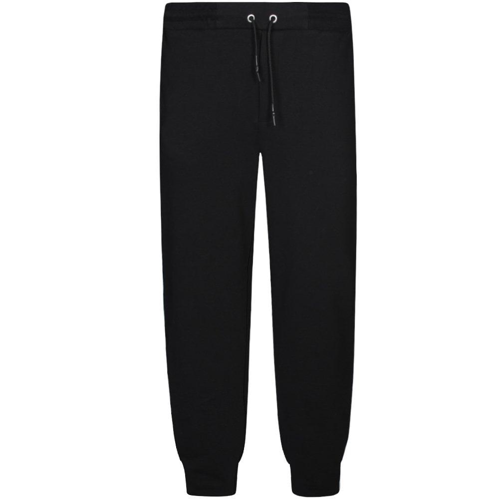 McQ Alexander McQueen Side Panel Logo Joggers Black Colour: BLACK, Size: SMALL