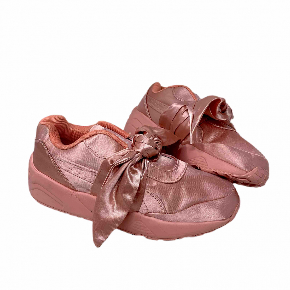 Fenty X Puma \N Pink Cloth Trainers for Women 38 EU