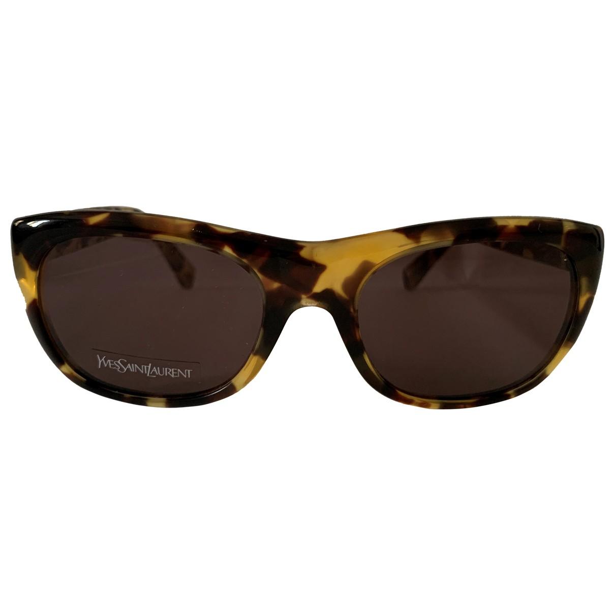 Yves Saint Laurent \N Sonnenbrillen in  Bunt Kunststoff
