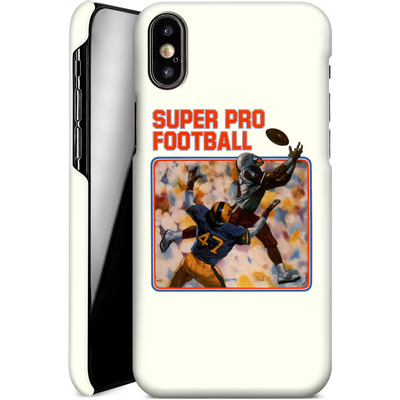 Apple iPhone XS Smartphone Huelle - Super Pro Football von Intellivision®