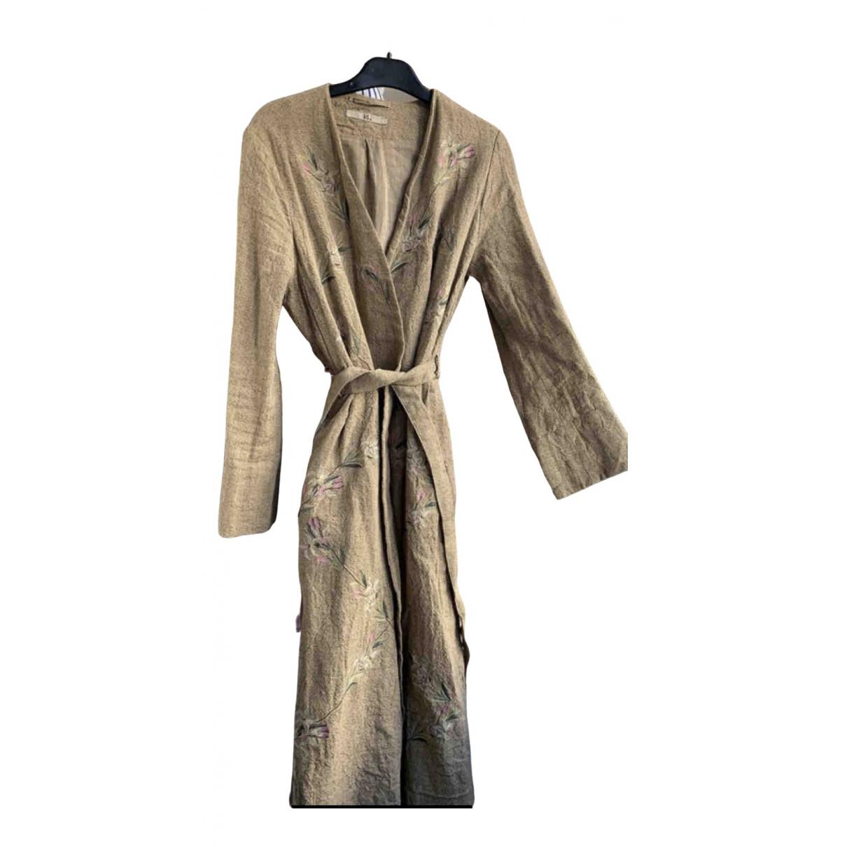 45rpm - Manteau   pour femme en coton - beige