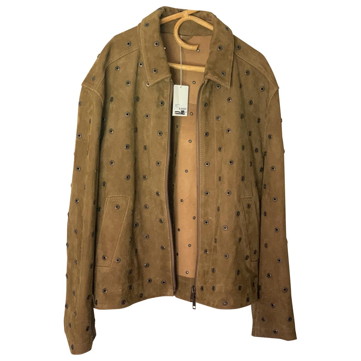 Zadig & Voltaire \N Brown Suede jacket  for Men XL International