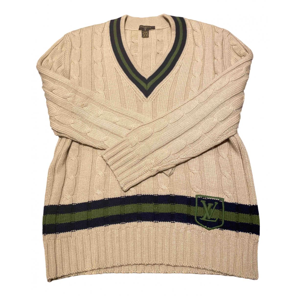 Louis Vuitton N Beige Cashmere Knitwear & Sweatshirts for Men S International