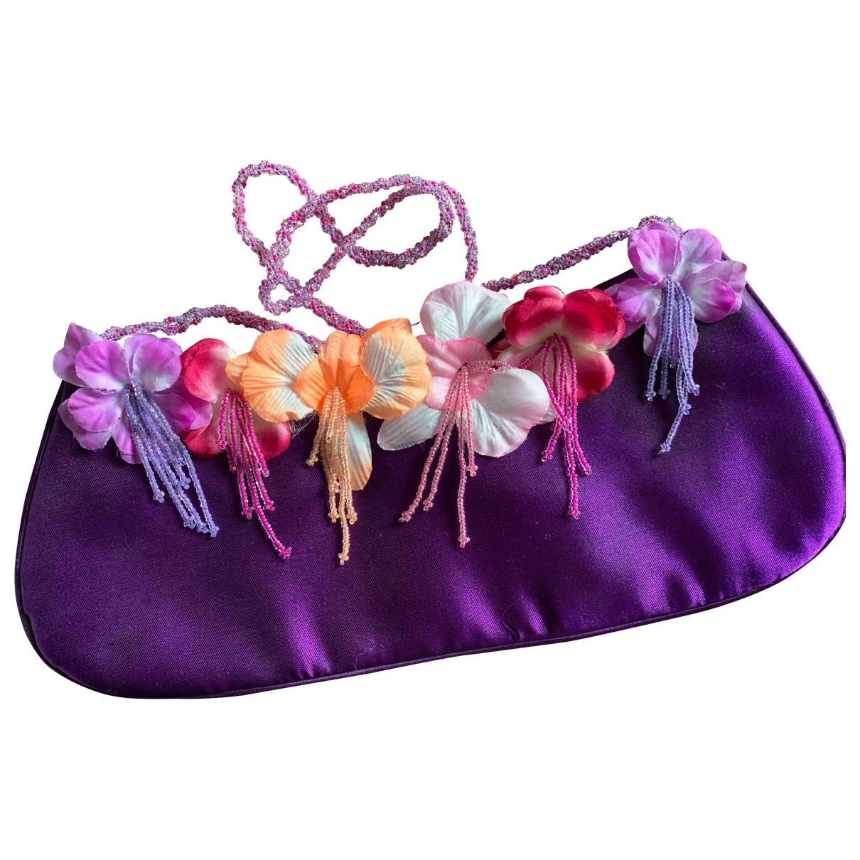 Tara Jarmon - Sac a main   pour femme en soie - violet