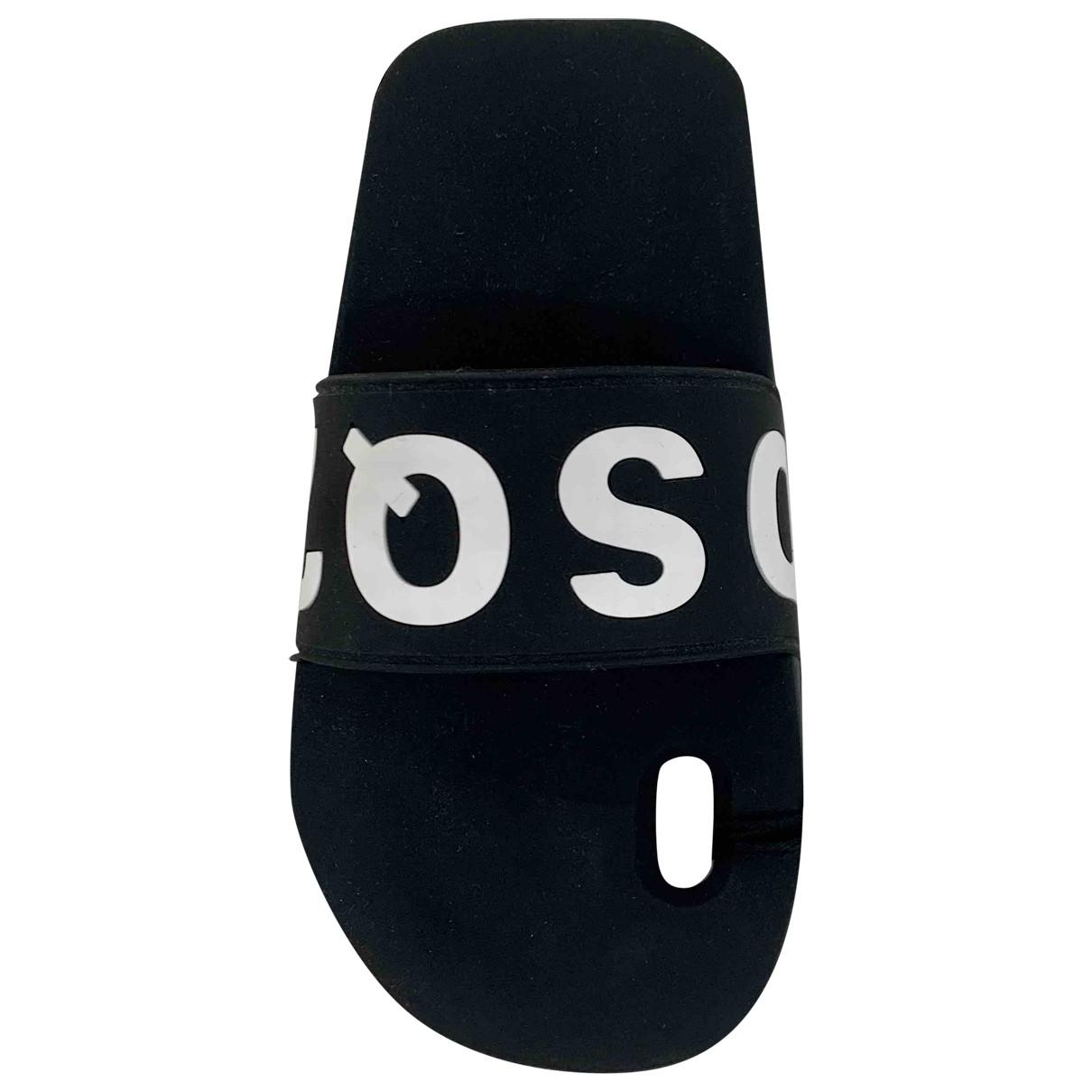 Dsquared2 - Bijoux de portable   pour femme en suede - noir