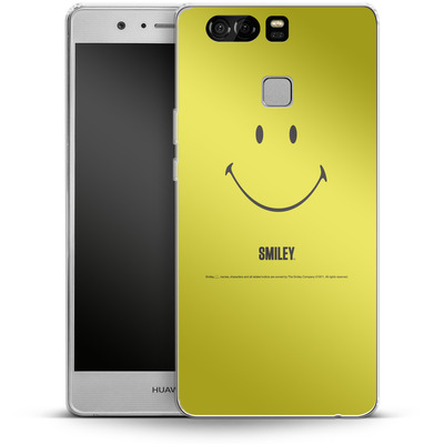 Huawei P9 Silikon Handyhuelle - Smiley All Over von Smiley®