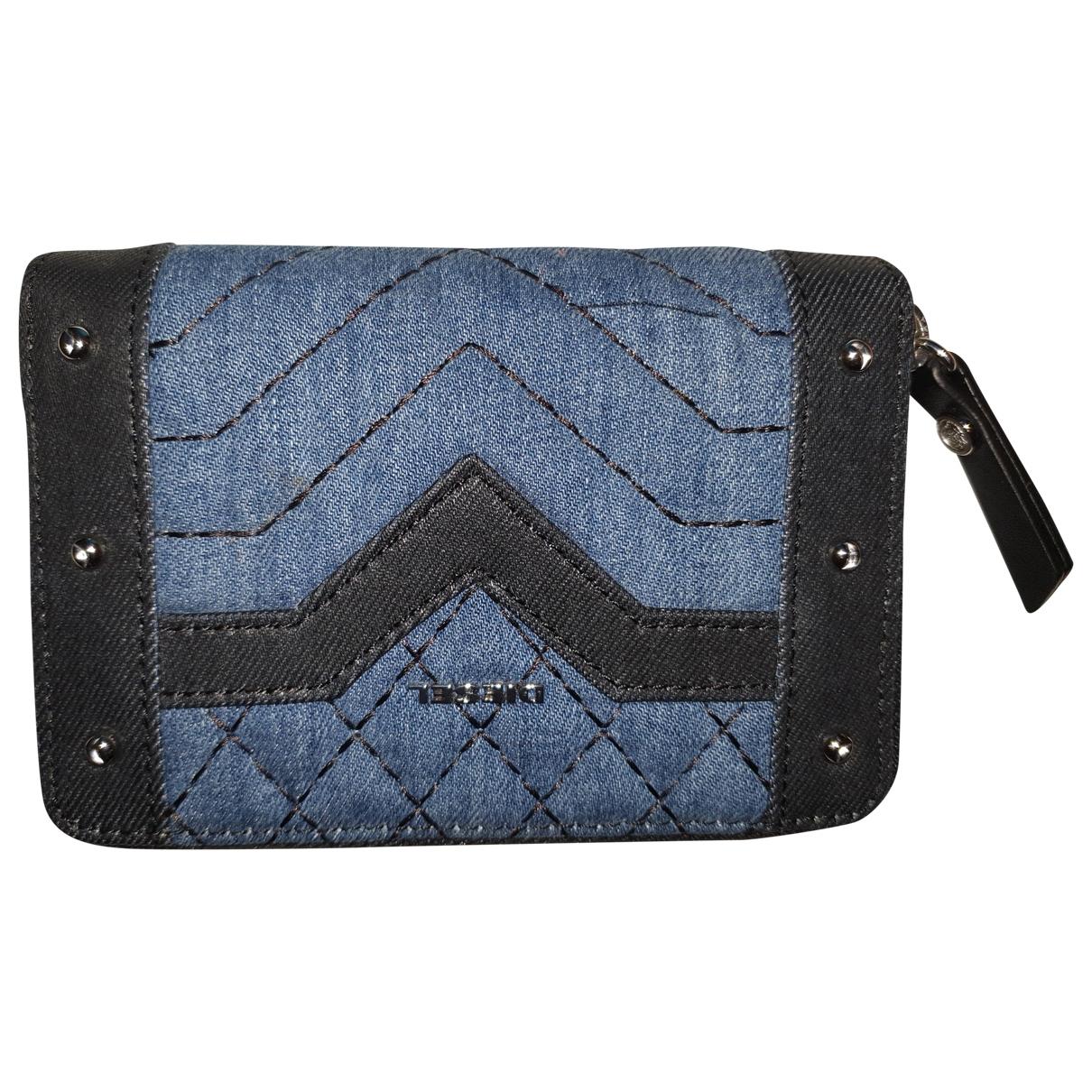 Diesel \N Blue Denim - Jeans Purses, wallet & cases for Women \N