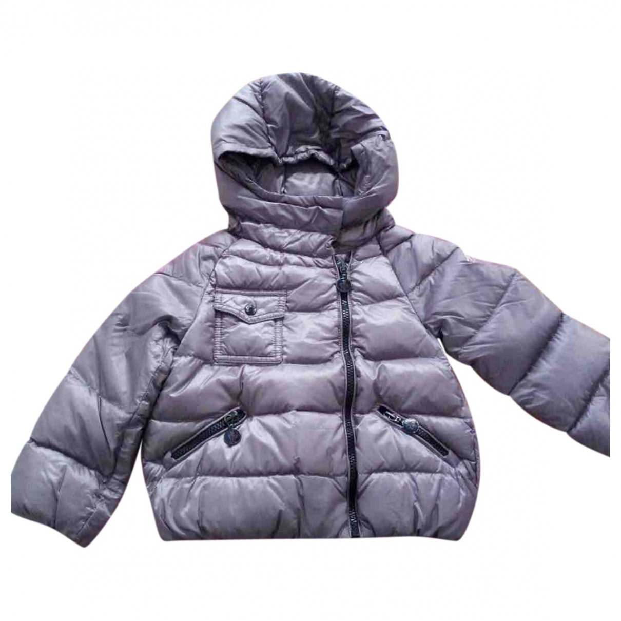 Moncler Hood Purple jacket & coat for Kids 2 years - up to 86cm FR