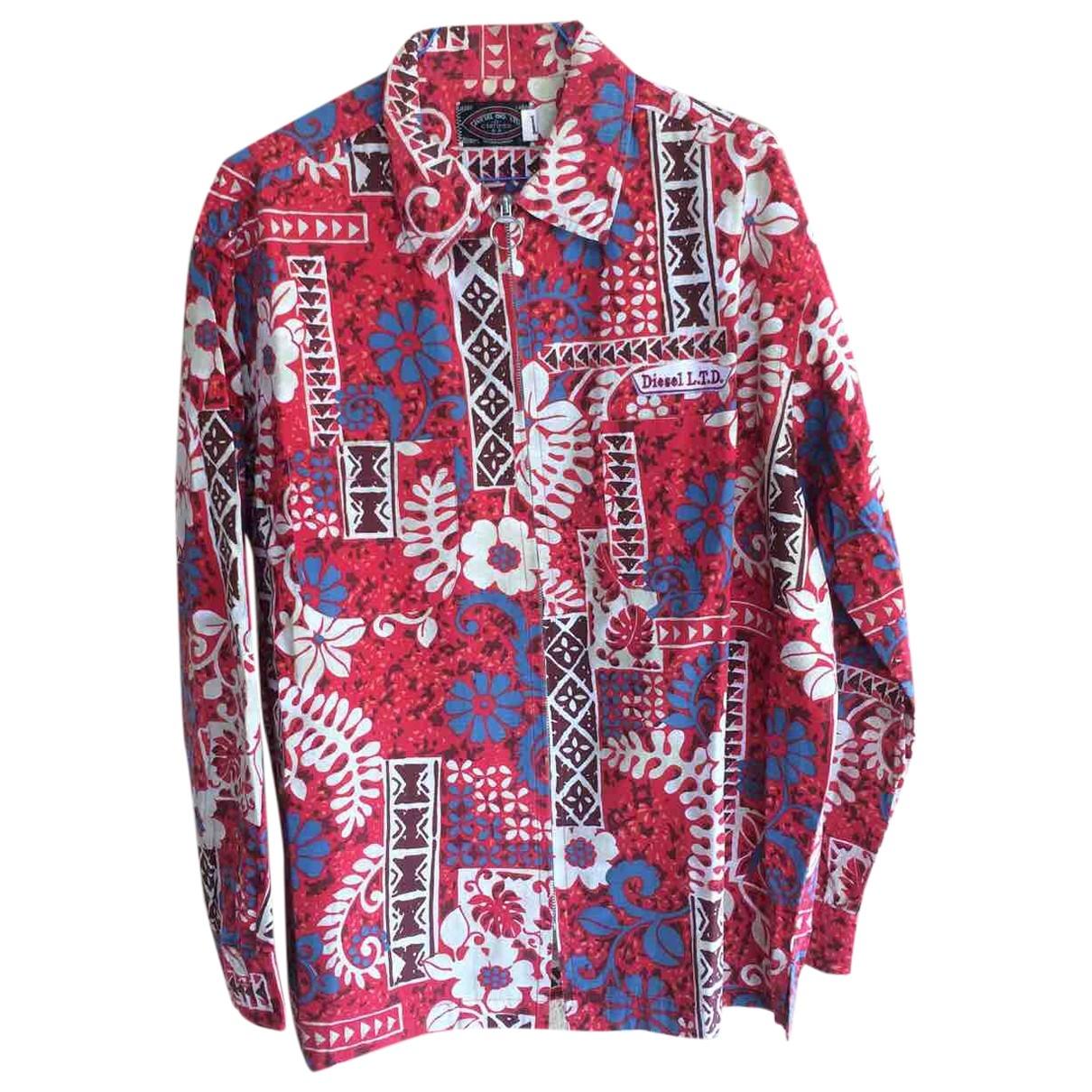Diesel - Vestes.Blousons   pour homme en coton - multicolore