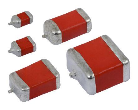 Vishay Tantalum Capacitor 100μF 16V dc MnO2 Solid ±20% Tolerance , 594D