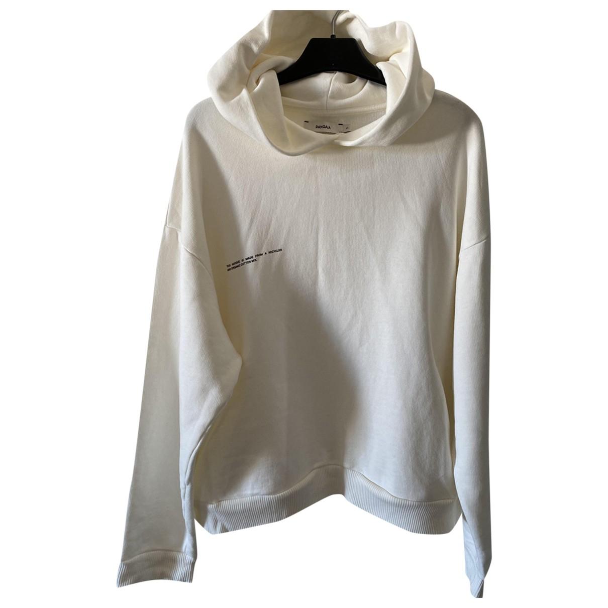 The Pangaia - Pull   pour femme en coton - blanc