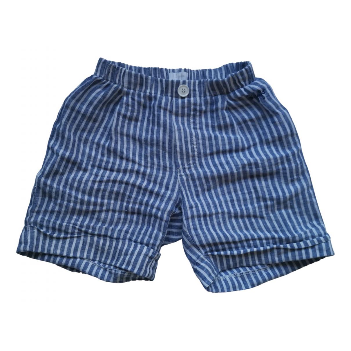 Il Gufo \N Shorts in  Blau Baumwolle