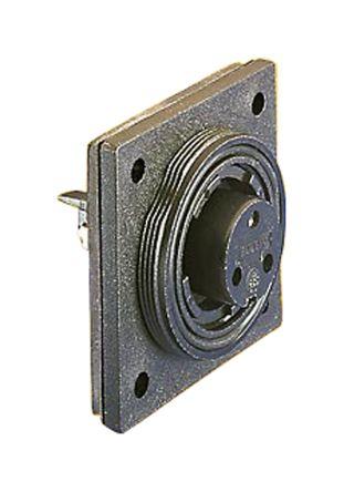 Bulgin Connector, 7 contacts Flange Mount Plug, Screw IP68