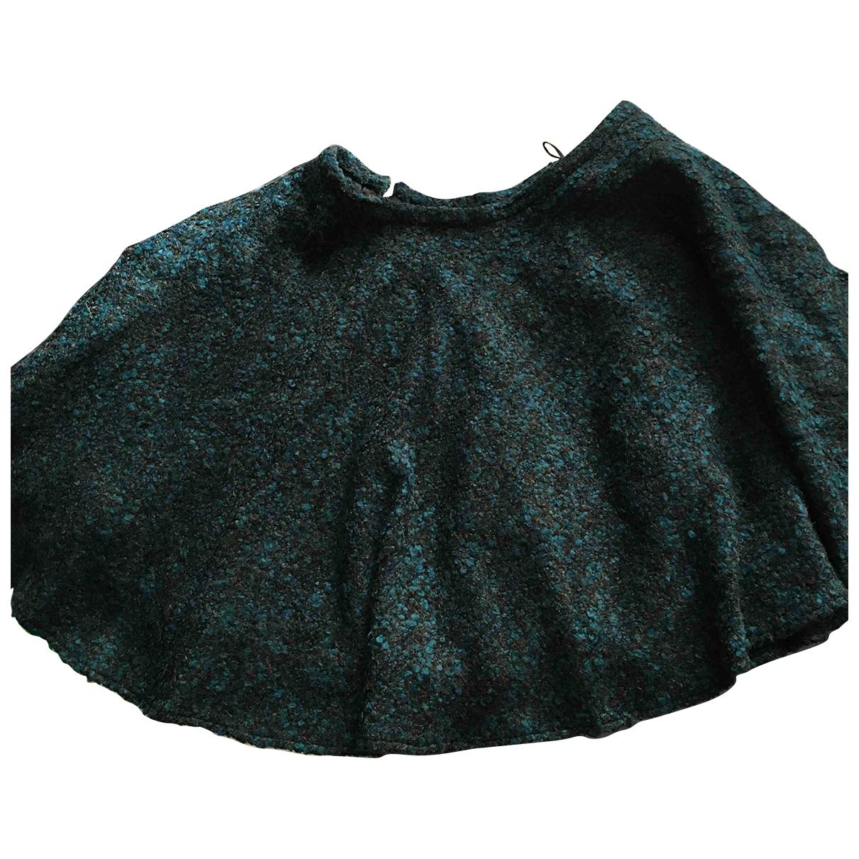 Kenzo - Jupe   pour femme en laine - vert