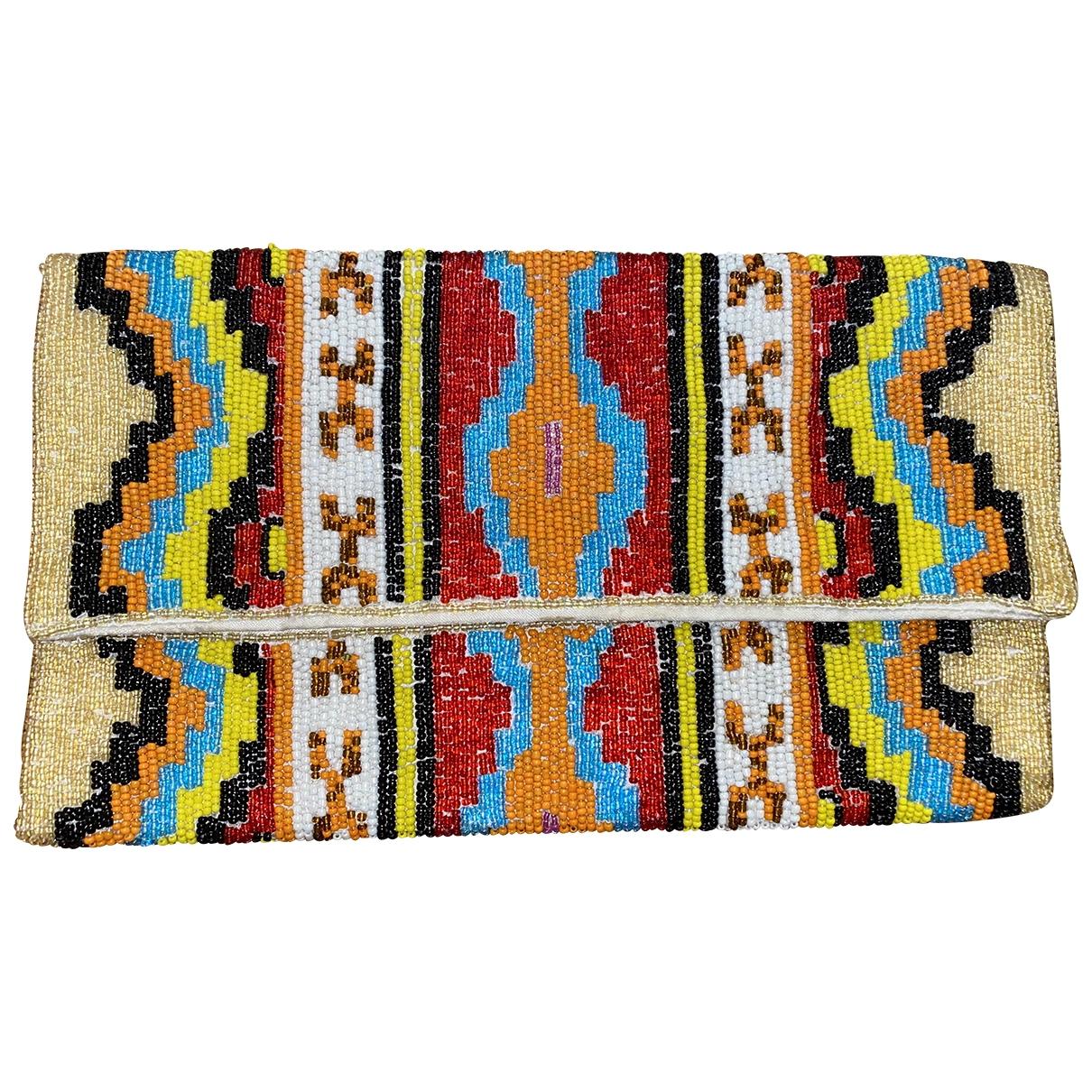 - Pochette Hippie Chic pour femme en a paillettes - multicolore