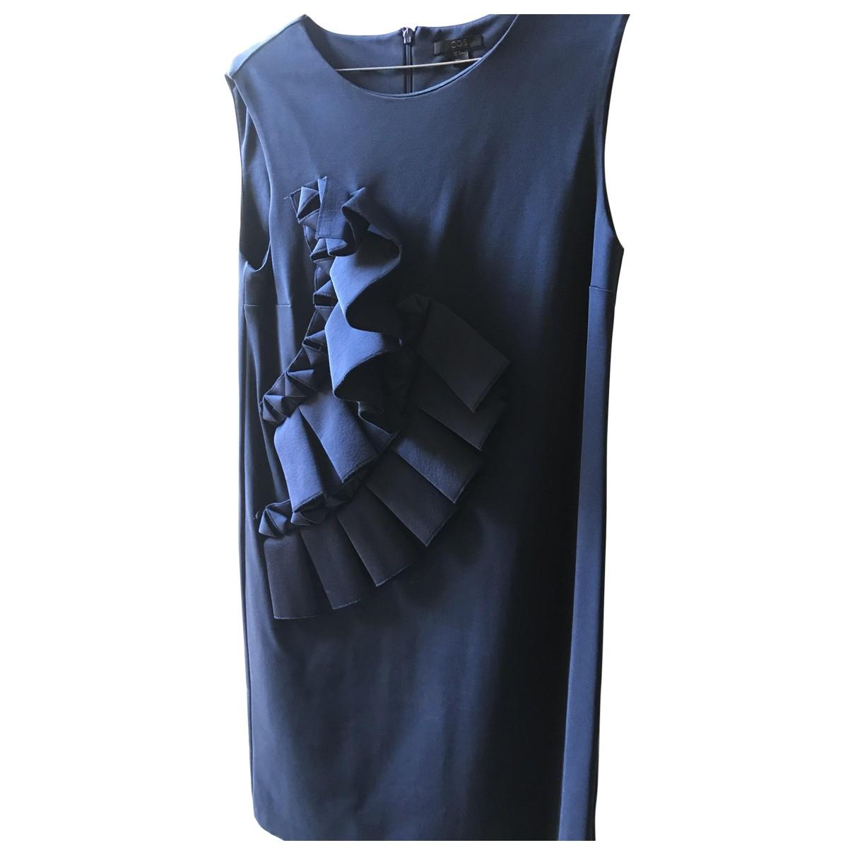 Cos N Blue Cotton - elasthane dress for Women M International