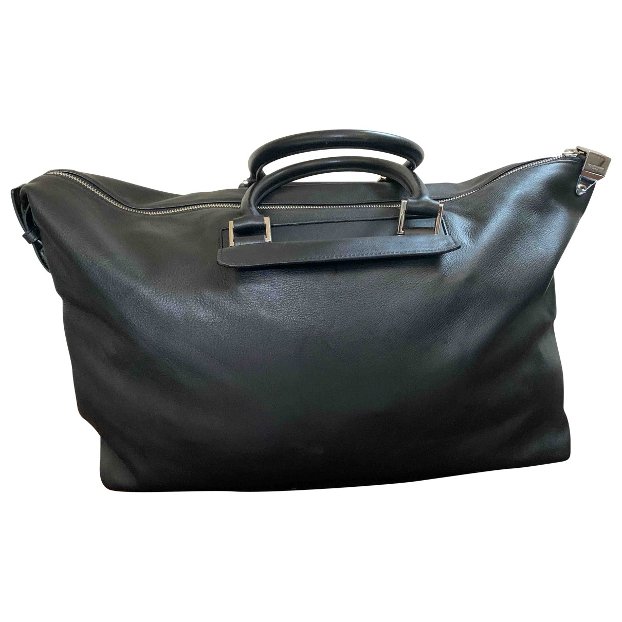 Wooyoungmi \N Black Leather bag for Men \N
