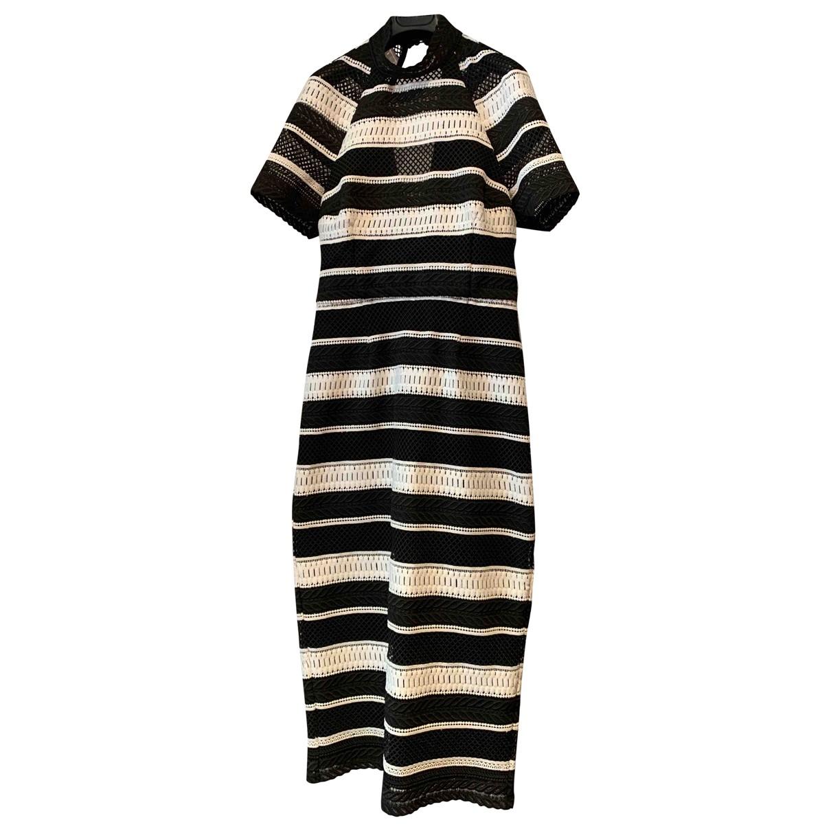 Rebecca Vallance \N Kleid in  Bunt Polyester