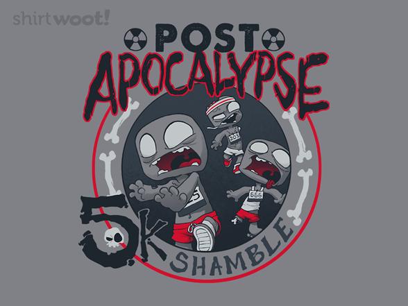 Zombie Run T Shirt
