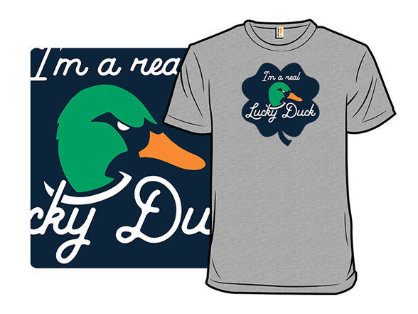Real Lucky Duck T Shirt