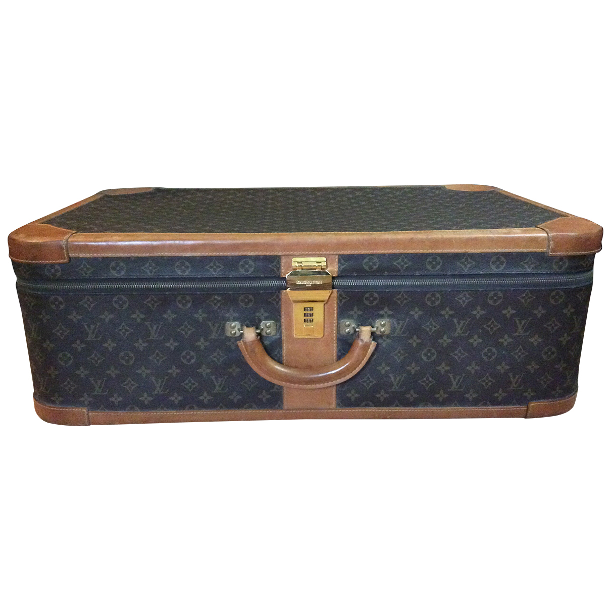 Louis Vuitton - Sac de voyage Stratos  pour femme en toile - marron