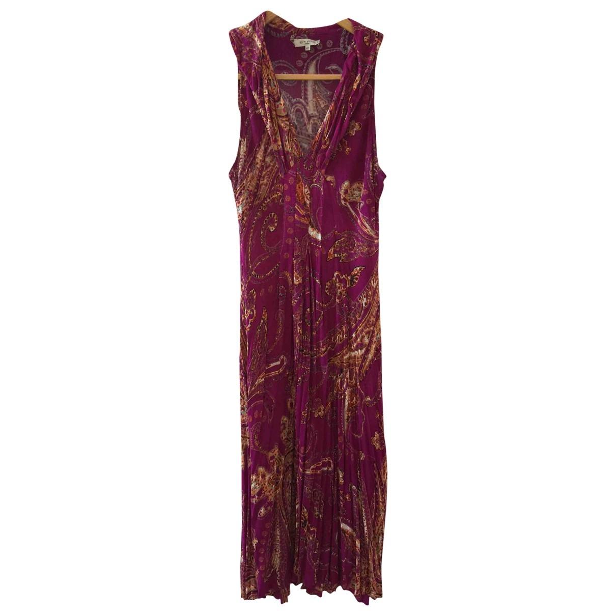 Etro \N Kleid in  Rosa Viskose
