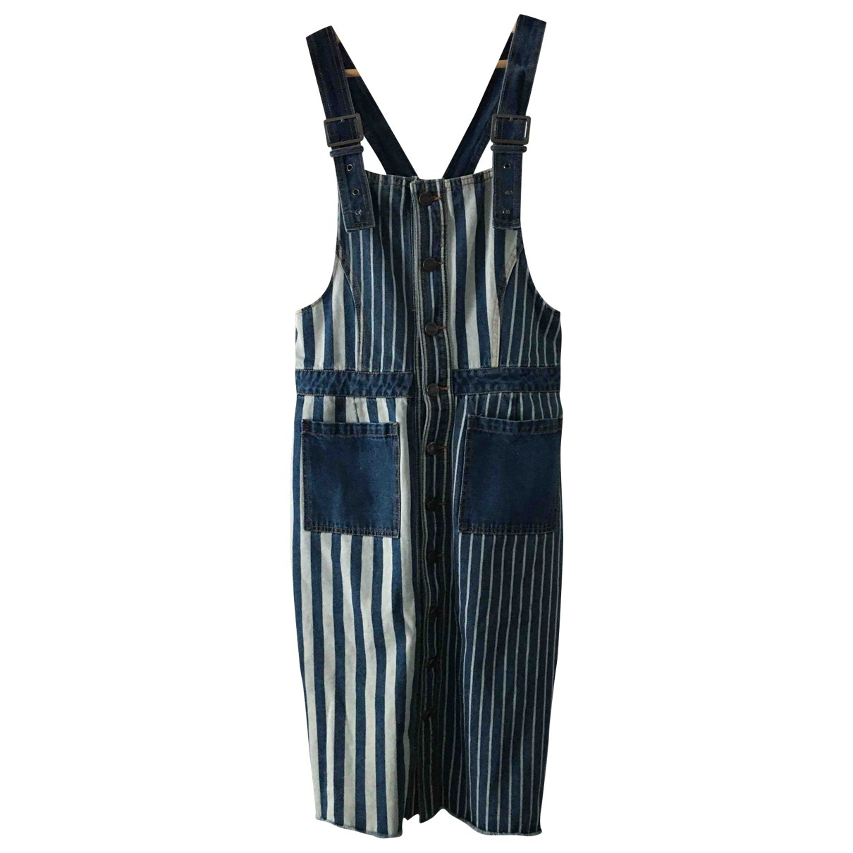 Urban Outfitters - Robe   pour femme en coton - bleu