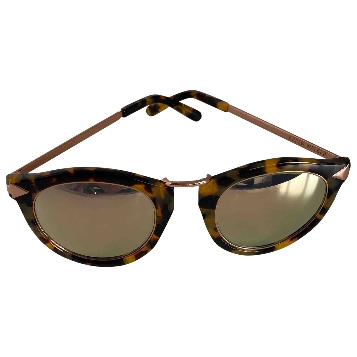 Karen Walker \N Sonnenbrillen in Metall