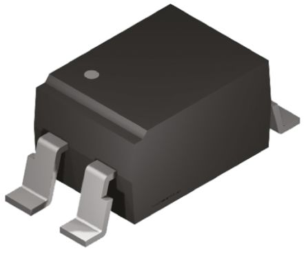Vishay , SFH6106-1X001T DC Input Phototransistor Output Optocoupler, Surface Mount, 4-Pin SMD (10)