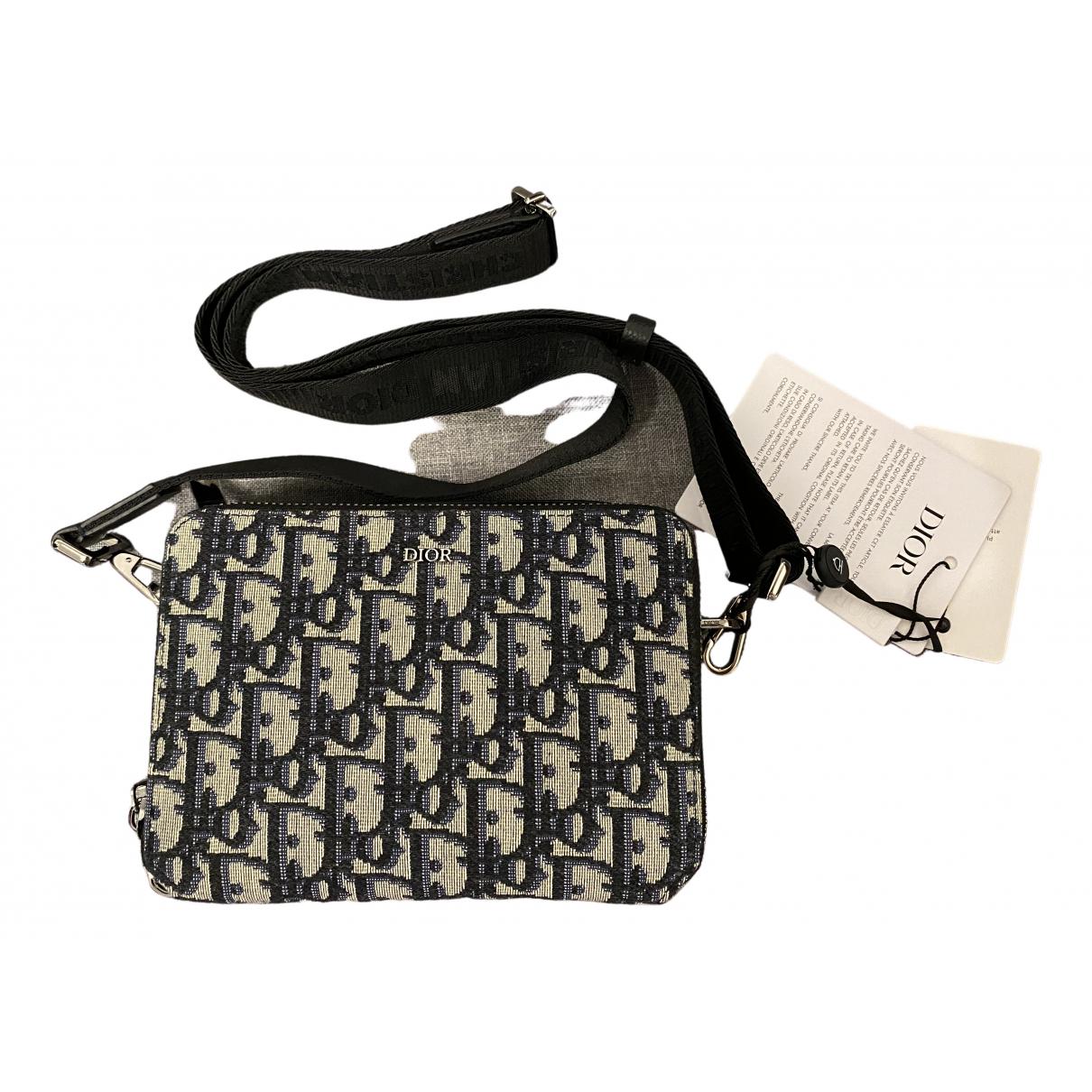 Dior Homme \N Beige Cloth bag for Men \N